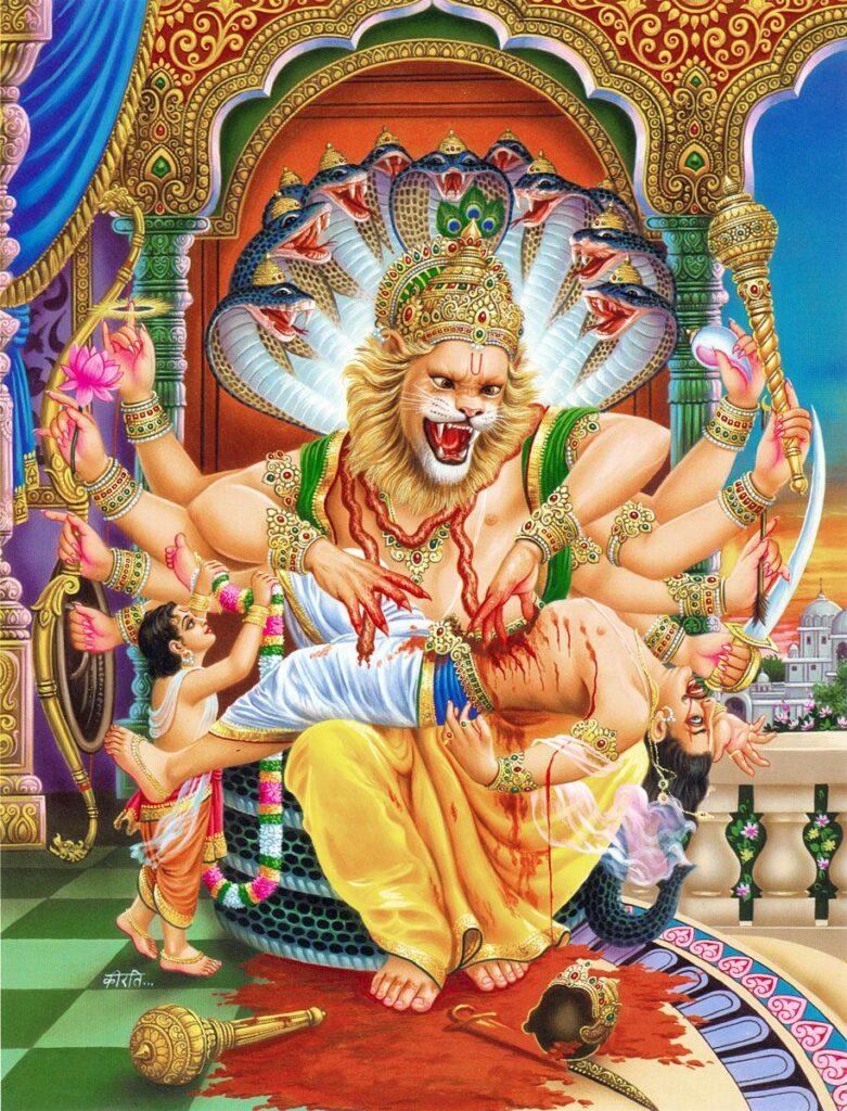Ugra Narasimha Temple - Hampi