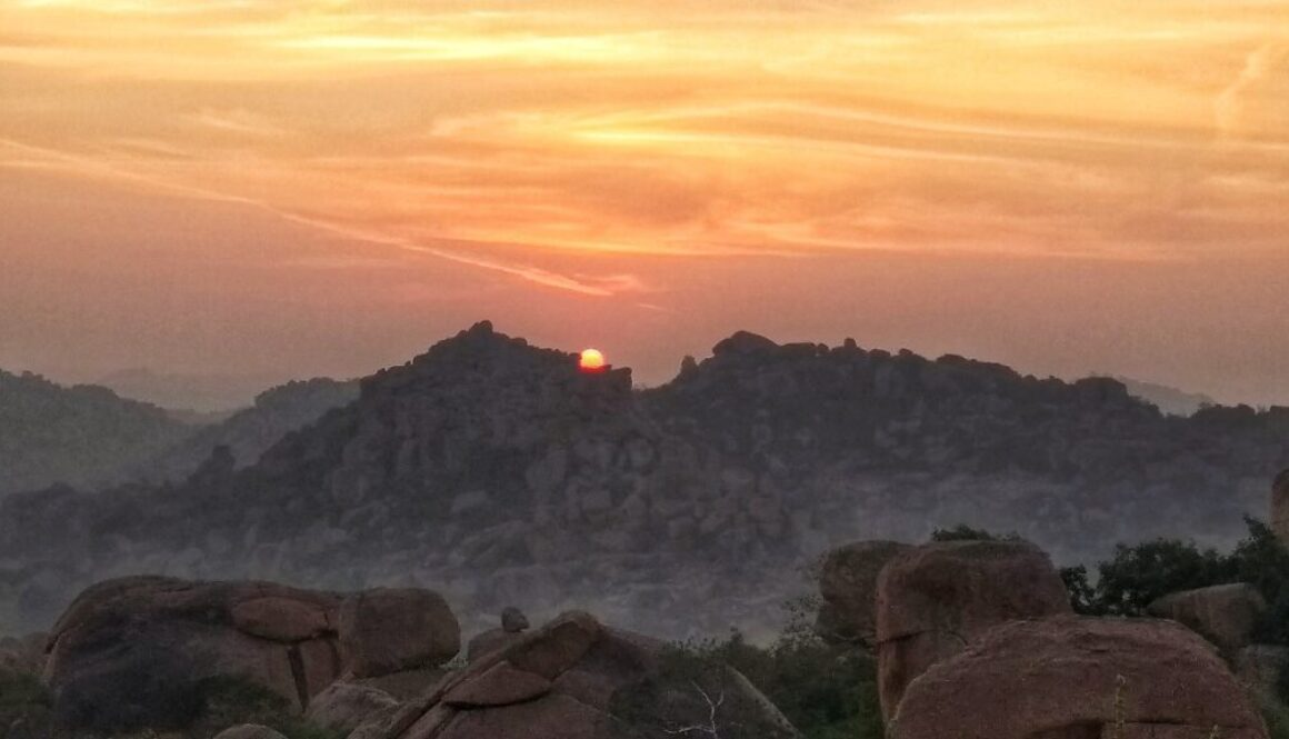 Sunrise at Malyawantha Hill