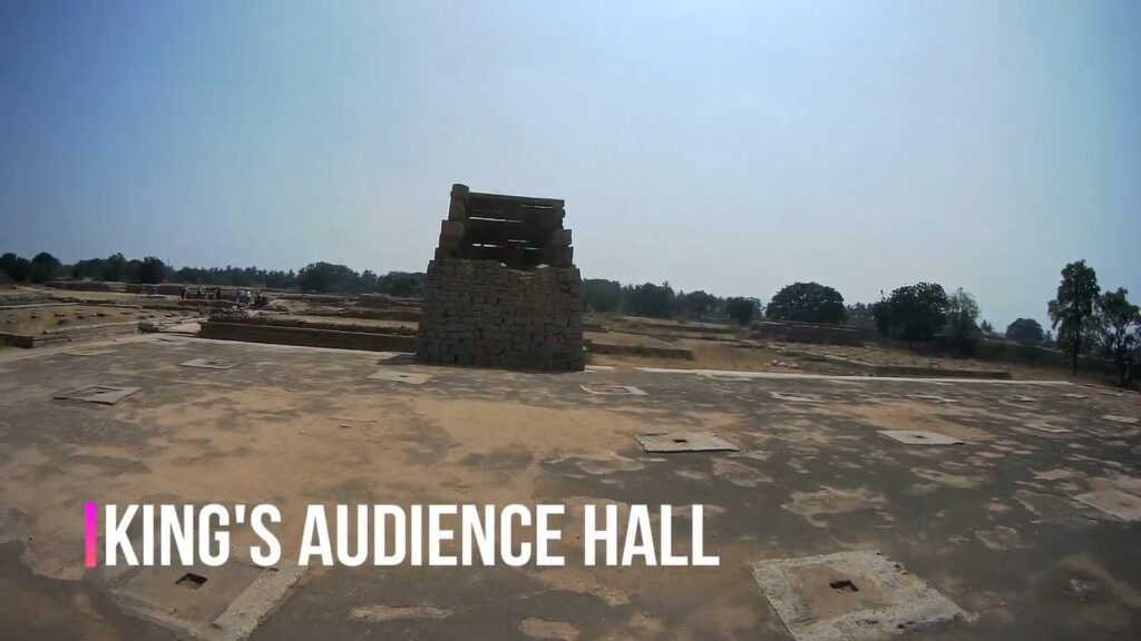 King's audience hall